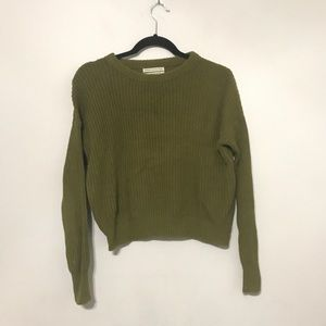 urban outfitters sweater Women green Ribbed small